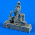 Accessory for plastic models - U.S.A.F. Maintenance crew - farm gate operation Vietnam War