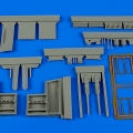 Accessory for plastic models - Spitfire Mk.IXc - late gun bay