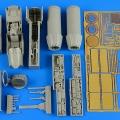 Accessory for plastic models - F/A-18A/C Hornet detail set