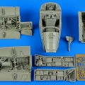 Accessory for plastic models - A-7E Corsair II - early detail set