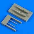 Accessory for plastic models - Gloster Gladiator gun pods