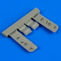Accessory for plastic models - P-40E Warhawk undercarriage covers