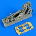 Accessory for plastic models - Soviet fighter pilot with ejection seat for MiG-21/MiG-23