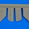 Accessory for plastic models - A-4B Skyhawk control surfaces