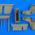 Accessory for plastic models - Kfir C2/C7 wheel bay