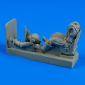 Accessory for plastic models - R.A.F. pilot with seat for Spitfire