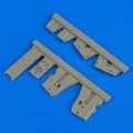 Accessory for plastic models - F-4B/N Phantom II undercarriage covers
