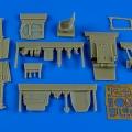 Accessory for plastic models - Lavochkin La-5F/FN cockpit set