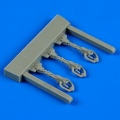 Accessory for plastic models - Lavochkin La-5F/FN control lever