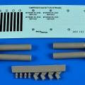 Accessory for plastic models - Compressed gas bottles - nitrogen