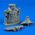 Accessory for plastic models - Mascot for A-7 Corsair II - 90mm