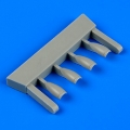 Accessory for plastic models - BAe Hawk Mk.I correct air intakes