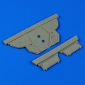 Accessory for plastic models - F-101A/C Voodoo undercarriage covers
