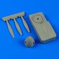 Accessory for plastic models - Spitfire Mk.V de havilland propeller w/tool