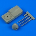 Accessory for plastic models - Spitfire Mk.I de havilland propeller w/tool