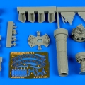 Accessory for plastic models - MiG-15bis engine set