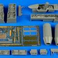 Accessory for plastic models - F/A-18E Super Hornet detail set