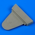Accessory for plastic models - Bf 109G cockpit´s rear bulkhead - closed