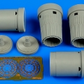Accessory for plastic models - Su-27SM Flanker B exhaust nozzles