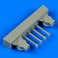 Accessory for plastic models - Bristol Blenheim Mk.I trop air intakes