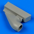 Accessory for plastic models - Bf 109G-6 correct air intake
