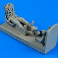 Accessory for plastic models - Russian Fighter Pilot WWII with seat for La-5