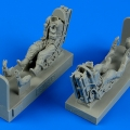 Accessory for plastic models - USAF Pilot & Operator with ejection seats for A-37 Dragonfly