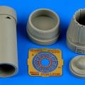 Accessory for plastic models - JAS-39C Gripen exhaust nozzle - closed