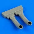 Accessory for plastic models - C-45 exhaust