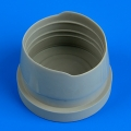 Accessory for plastic models - MiG-21M/MF/SMT exhaust nozzle cover