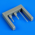 Accessory for plastic models - I-16 gun barrels and pitot tube