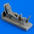 Accessory for plastic models - Russian Fighter Pilot with seat for Yak-3 / Yak-7 / Yak-9