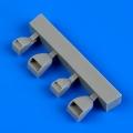 Accessory for plastic models - Dornier Do 17Z air intakes