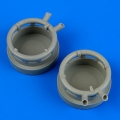 Accessory for plastic models - Dornier Do 17Z exhaust