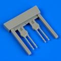 Accessory for plastic models - Defiant Mk.I gun barrels
