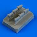Accessory for plastic models - Defiant Mk.I exhaust - fishtail