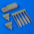 Accessory for plastic models - C-45 propellers w/tool