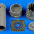 Accessory for plastic models - JAS-39C Gripen exhaust nozzle - opened
