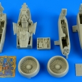 Accessory for plastic models - A-10A Thunderbolt detail set