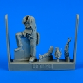 Accessory for plastic models - US Navy Pilot WWII - Pacific Theatre