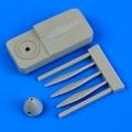 Accessory for plastic models - Defiant Mk.I de Havilland propeller w/tool
