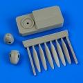 Accessory for plastic models - Dornier Do 17Z propeller w/tool
