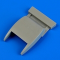 Accessory for plastic models - Bf 109G-10 correct oil radiator