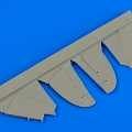 Accessory for plastic models - Gloster Gladiator control surfaces