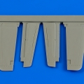 Accessory for plastic models - P-51D Mustang control surfaces