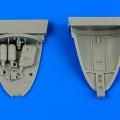 Accessory for plastic models - L-29 Delfín nose nitrogen bay
