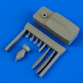 """Accessory for plastic models - I-153 propeller """"A"""" w/tool"""
