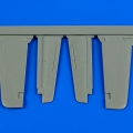 Accessory for plastic models - P-51B/C Mustang control surfaces