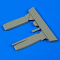 Accessory for plastic models - F-16C Fighting Falcon parachute cover Hellenic Air Force