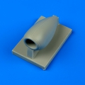Accessory for plastic models - Fw 190D-9 air scoop